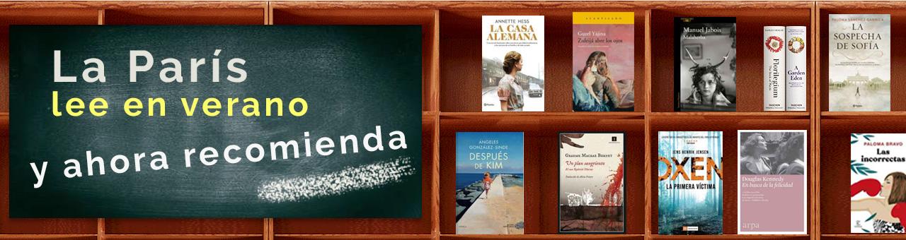 Librer�a Par�s lee en verano y ahora recomienda