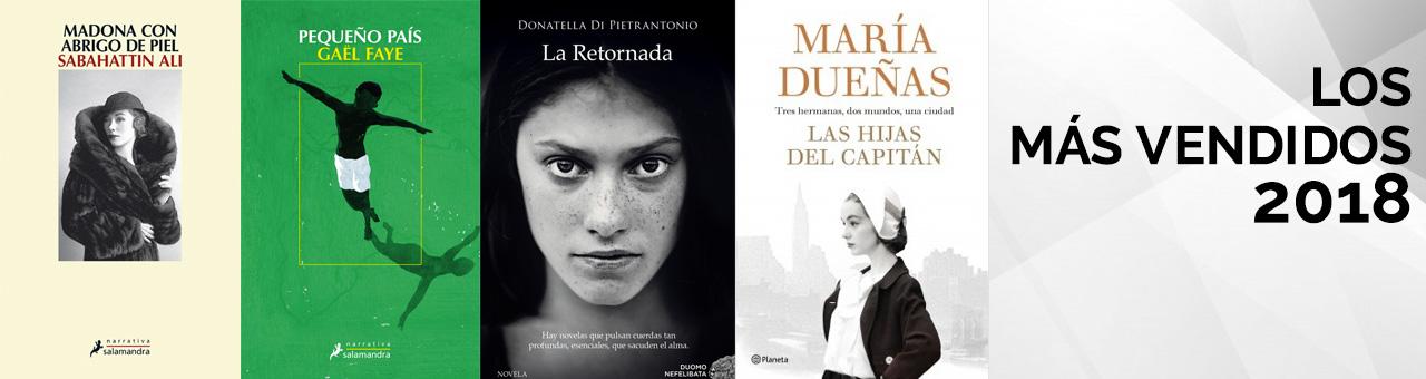 Libros m�s vendidos 2018