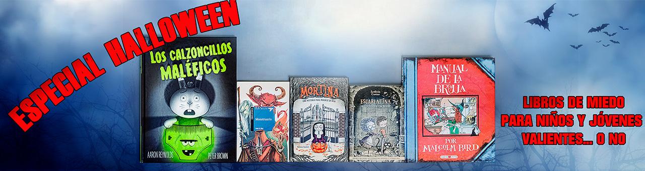 Especial Halloween, libros de miedo para ni�os